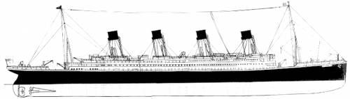 RMS Titanic [Ocean Liner] (1912)