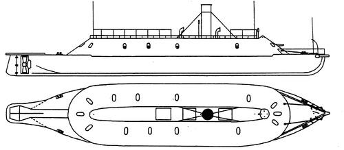 CSS Virginia (Ironclad Ram) (1863)