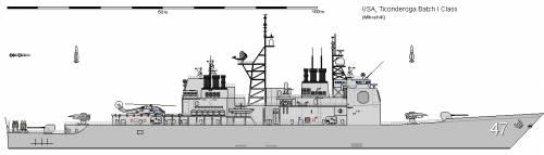 USA CG-47 TICONDEROGA