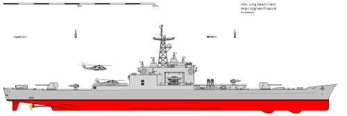 USA CGN-9 Long Beach