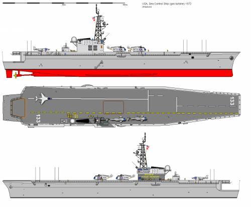 USA CVS Sea Control Ship (1972)