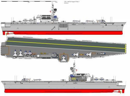 USA CVS Vertical Support Ship