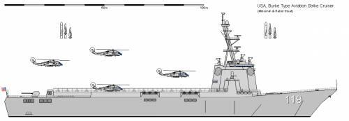 USA DDG-51 Flight Deck Burke (1990)