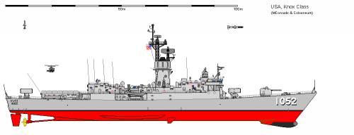 USA FF-1052 Knox