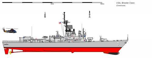 USA FFG-1 Brooke
