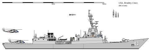 USA FFG-63 Bradley AU