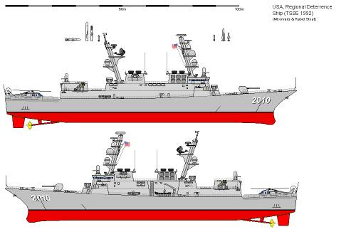 USA FFG TSSE Regional Deterrence Ship (1992)