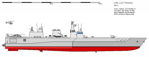 USA FS LCS Trimaran (2006)