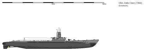 USA SS-212 Gato