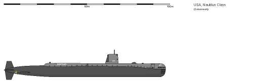 USA SSN-571 Nautilus