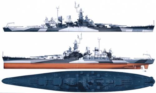 USS BB-55 North Carolina (Battleship)
