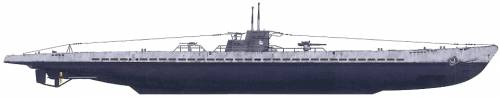 DKM U-124 (U-Boat Type IXB)