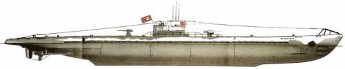 DKM U-37 U-Boat Type IXA