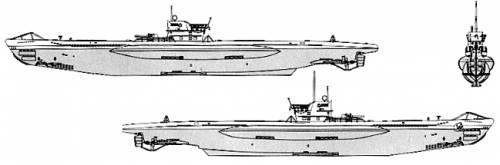 DKM U-48 (Submarine U-Boat Type VIIB)