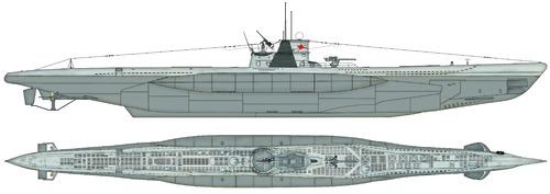 DKM U-96 Typ VIIC U-Boot [Submarine]