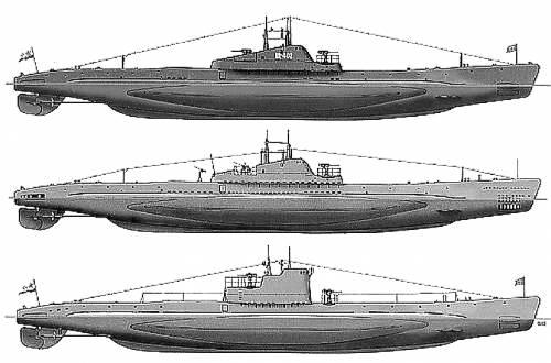 DKM U-Boat Shch X