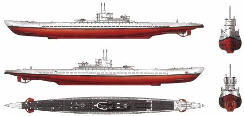 DKM U-Boat Typ XIC