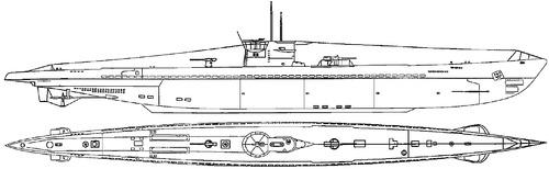 DKM U-Boat Type IXA