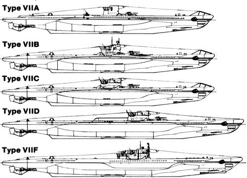 DKM U-Boat Type VII