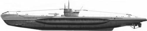 DKM U-Boat Type VII (1940)