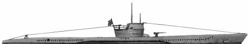 DKM U-Boat Type VII B