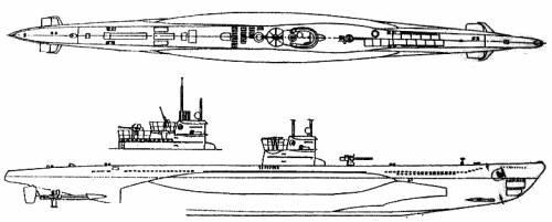 DKM U-Boat Type VII C