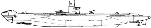 DKM U-Boat Type VIIA