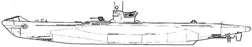 DKM U-Boat Type VIIB