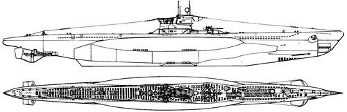 DKM U-Boat Type VIIC