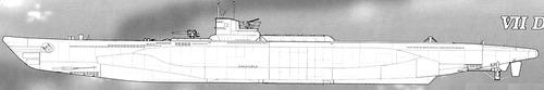 DKM U-Boat Type VIID