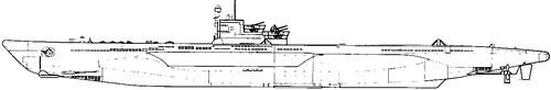 DKM U-Boat Type VIIF