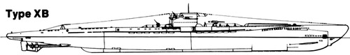 DKM U-Boat Type XB