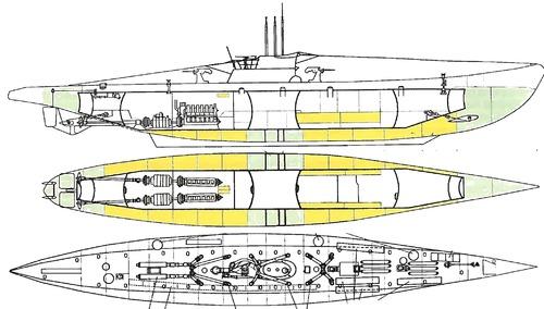 DKM U-Boat Type XIV 1942 (Submarine)