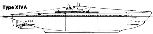 DKM U-Boat Type XIVA
