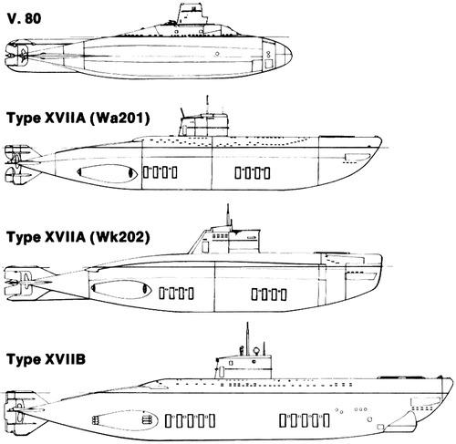 DKM U-Boat Type XVII