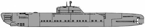 DKM U-Boat Type XXI