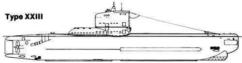 DKM U-Boat Type XXIII