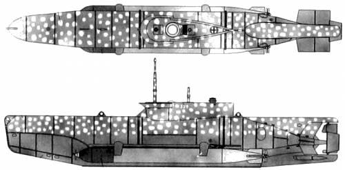 DKM U-Boat Type XXVIIB Seehund