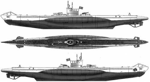 DKM U-Boat VII-A (Submarine)