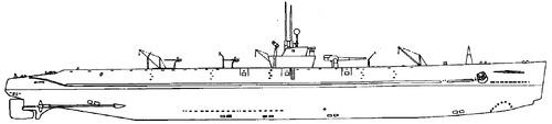 IJN D1 Transport Submarine