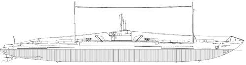 IJN I-1 1926 [Submarine]