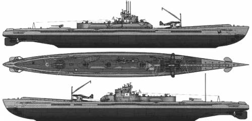 IJN I-400 STO Class (Submarine)