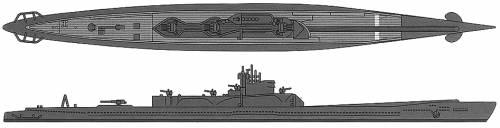 IJN I-400 (Submarine)