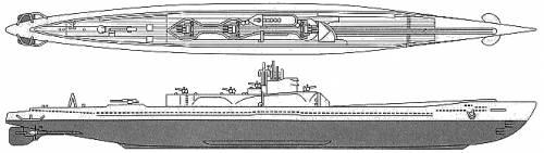 IJN I-401 STO Class (Submarine)