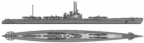 IJN I-58 (Submarine) (1945)
