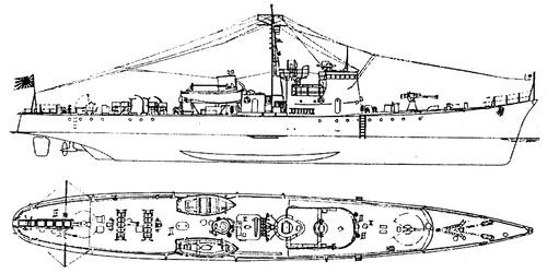 IJN No.13-class Submarine Chaser