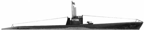 IJN Ro-106 (Submarine) (1943)