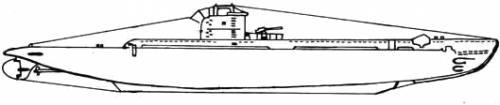 HMS U Class Submarine