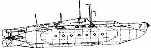 HMS X-7 (Midget Submarine)