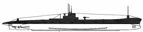 USS SS-165 Bonita (1940)